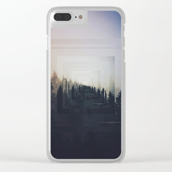 Fractions A87 Clear iPhone Case