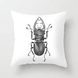 Beetle 05 Throw Pillow