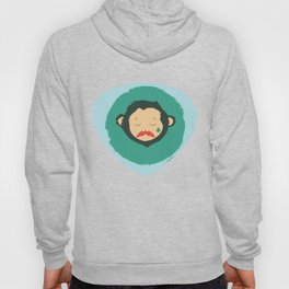 Sad Monkey-Bear Hoody