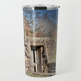 Cherokee Nation - Hendricks Spring, the Site Selected for Seminary Hall, after the first burned, #2 Travel Mug