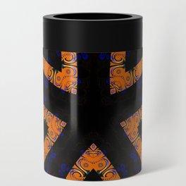 Tribal Geometric Can Cooler