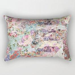 Brive map Rectangular Pillow