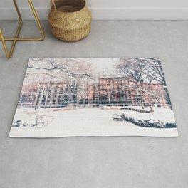 New York City - Winter Rug