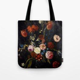"""Jan van Kessel the Elder """"Floral still life"""" Tote Bag"""