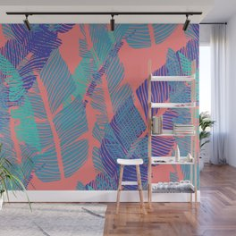 Carved Fluo Jungle #society6 #decor #buyart Wall Mural