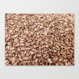 cereal texture Canvas Print