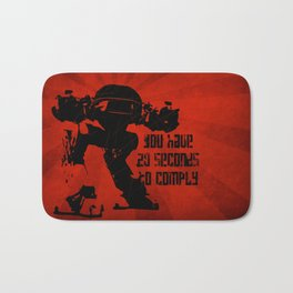 20 SECONDS TO COMPLY Bath Mat