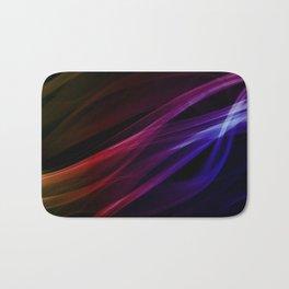 Colors of the rainbow - smoke abstract Bath Mat