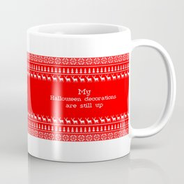 Ugly Sweater Joke Coffee Mug