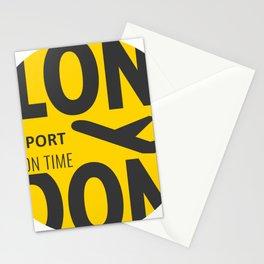 LONDON BADGE Stationery Cards