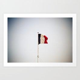Flag of France Art Print