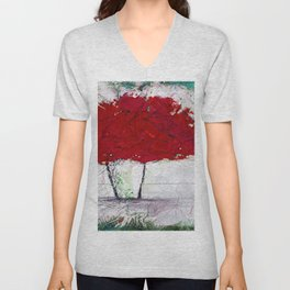 A Bouquet Of Flowers No.6f by Kathy Morton Stanion Unisex V-Neck