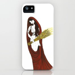 The Lady Demeter, Earth Mother iPhone Case