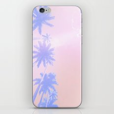 Pastel Palms iPhone & iPod Skin