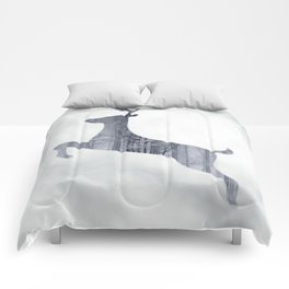 Reindeer Forest Comforters