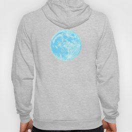 Moon Portrait 4, Blue Moon Hoody