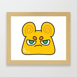 Cinnamon Flan Framed Art Print