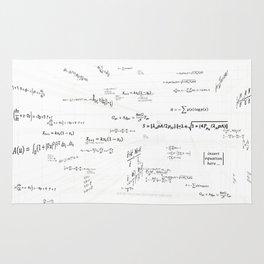 Mathspace - High Math Inspiration - Inverted Color Rug