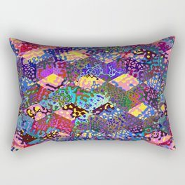 Geo Coral Reef Rectangular Pillow