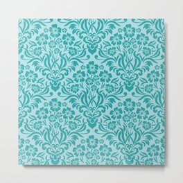 Damask Pattern 7 Metal Print