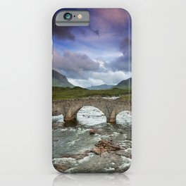 Bridge to the Valley Beyond iPhone Case