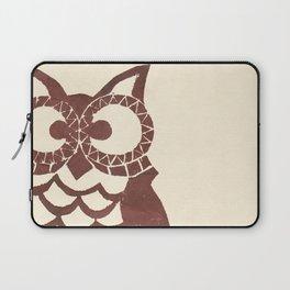Retro Owl Laptop Sleeve