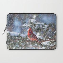 Let It Snow (Northern Cardinal) Laptop Sleeve