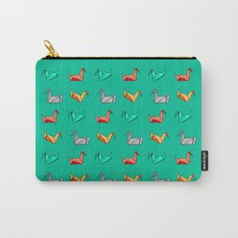 Michael's swan origami Carry-All Pouch