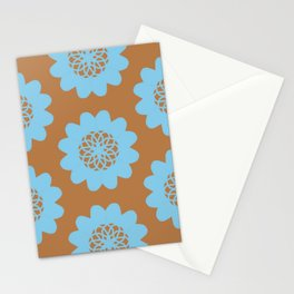Pinwheel Flowers Stationery Cards