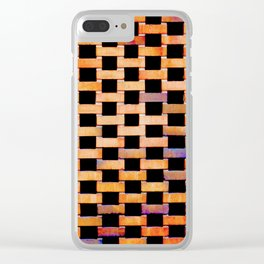 Foundationalism Clear iPhone Case