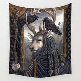 One-Eyed Wall Tapestry