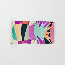 Sliced Abstract Ananas Hand & Bath Towel