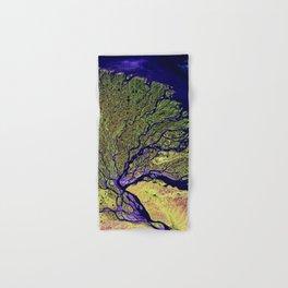 Abstract Art Photography Lena River Hand & Bath Towel
