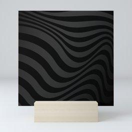 Dark Lines Mini Art Print