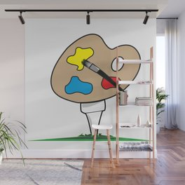 Junior Strokes Wall Mural