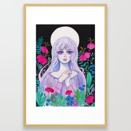 Lady Amalthea Framed Art Print