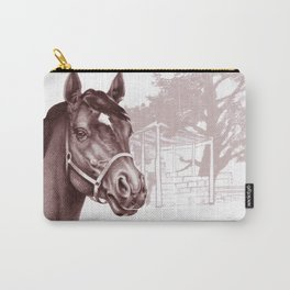 Stare of The Stallion Carry-All Pouch