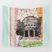 alabama Wall Tapestries featuring Alabama by Ursula Rodgers