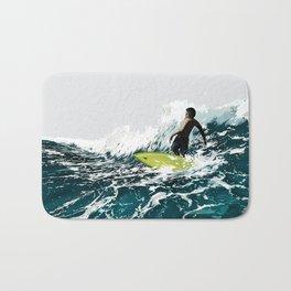 On the Wave Bath Mat