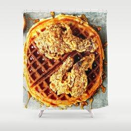 Food Dreams Shower Curtain