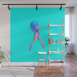 Woman Power Style1 Wall Mural