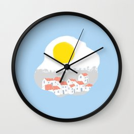 Breakfast Day  Wall Clock