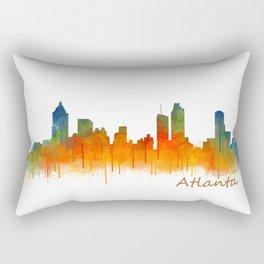 Atlanta City Skyline Hq v2 Rectangular Pillow
