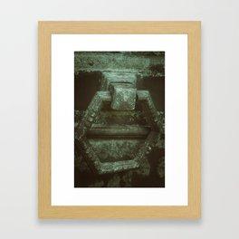 Door to eternity Framed Art Print