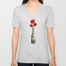 Dudes Love Roses (Yellow) Unisex V-Neck