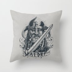 Raider (Viking) Throw Pillow
