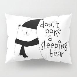 Scandinavian style bear art Pillow Sham