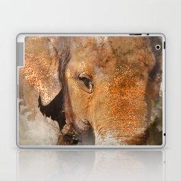 Elephant Watercolour Laptop & iPad Skin