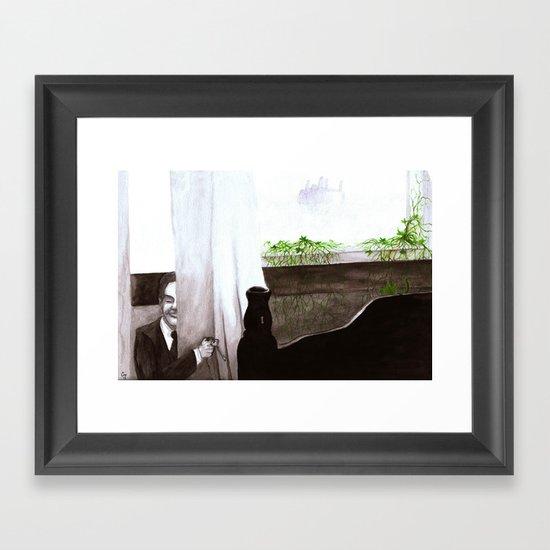 """Give Up"" by Cap Blackard Framed Art Print"