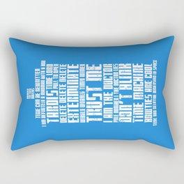 Tardis Rectangular Pillow